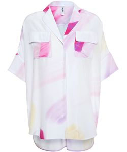 ADAM SELMAN | A Key Piece From His Ss15 Collection This Oversized Silk Shirt By Is Influenced By The Kitsch 80s Artist Harumi Yamaguchi And Is Packed With The Designers Casual Cool