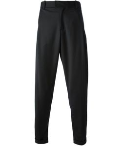 UBI SUNT | Wool Tailored Trousers From Featuring A Button Zip Fastening A Waistband With Belt Loops A Dropped Crotch Side Pockets Rear Pockets And A Tapered Leg