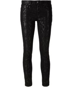 Cut25 By Yigal Azrouël | Cotton Blend Snakeskin Pattern Trousers From