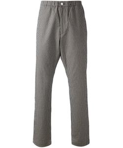 CAMOSHITA BY UNITED ARROWS | And Cotton Blend Striped Trousers From