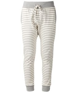THADDEUS O'NEIL | And Cotton Striped Track Pants From