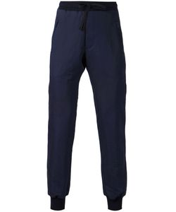 TIMO WEILAND | Cotton And Linen Blend Ribbed Cuffs Track Trousers From