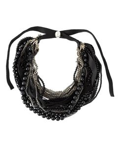 GOTI | Stone And Chain And Bead Necklace From