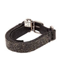 GOTI | Embellished Layered Leather Bracelet