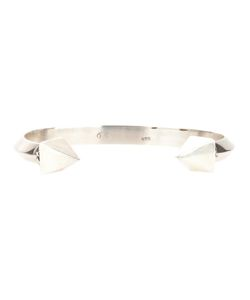 KING BABY | Sterling Thick Pyramid Bangle From