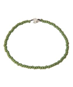 LUIS MORAIS | Beaded Bracelet From Featuring A Tone Charm Detail With Diamond Embellishing