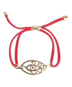 ZAYIANA | Plated Bad Eye Bracelet From Featuring A Satin Cord
