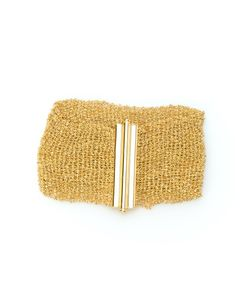 CHRISTIAN KOBAN | Sterling Woven Bracelet From Featuring A Woven Band And Bar Slide Clasp Closure
