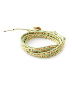 CHANLUU   Beaded Strap Bracelet