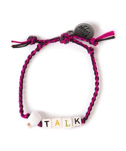 Venessa Arizaga | Multicoloured Cotton And Ceramic Coffee Talk Bracelet From