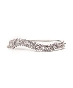 Joanna Laura Constantine | -Tone Swarovsky Crystals Leaf Bracelet From