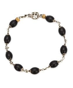ROMAN PAUL | -Tone And Onyx Beaded Bracelet From