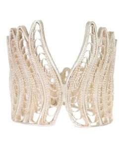 CLIZIA ORNATO | Filigree Aa Ring From Featuring A Scalloped Trim