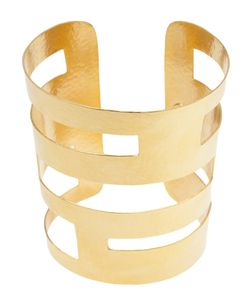 Hervé van der Straeten | -Tone Geometric Cuff From Featuring Cut Out Details