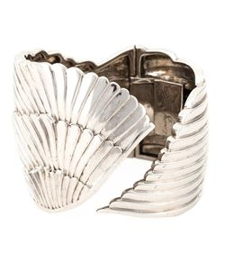 GARRARD | 925 Limited Edition Winged Cuff From Featuring A Hinged Structure And An Engraved Logo On The Inside