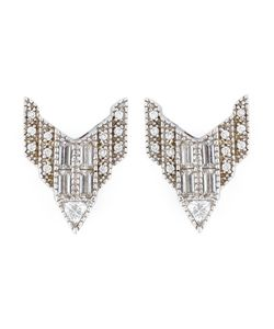 V JEWELLERY | Deco Chrysler Earrings