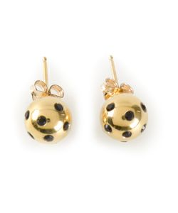 NEKTAR DE STAGNI | Ladybug Earrings From Featuring A Butterfly Fastening