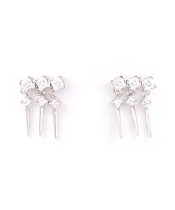 V JEWELLERY | Triple Cascade Earrings