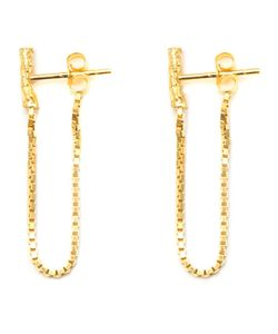 NIZA HUANG | Plated Sterling Illusion Chain Earrings From Featuring A Butterfly Fastening