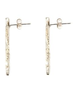NIZA HUANG | Illusion Stick Earrings From Featuring A Butterfly Fastening