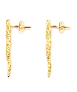 NIZA HUANG | Plated Sterling Illusion Stick Earrings From Featuring A Butterfly Fastening