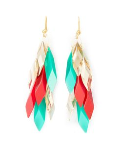 Silvia Rossini | Multicoloured Wisteria Earrings From