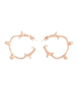 ROS MILLAR | Branch Hoop Earrings