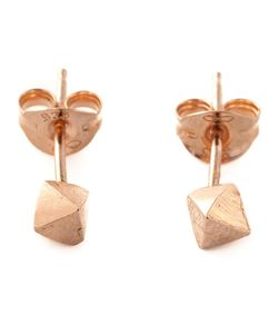 ROS MILLAR | Plated Sterling Meteor Earrings From Featuring A Butterfly Fastening