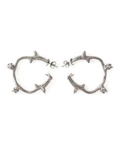 ROS MILLAR | Branch Hoop Earrngs