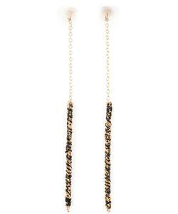 BY BOE | 14kt Filled Sterling Chain Earrings From