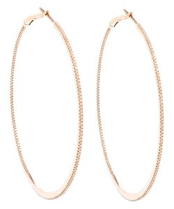 ROSA DE LA CRUZ | These 18k Large Hoop Earrings Beautifully Illustrate Expert Approach To Fine Jewellery