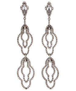 LOREE RODKIN | 18kt Earrings From Featuring A Multiple Drop Design Embellished With Diamonds 1