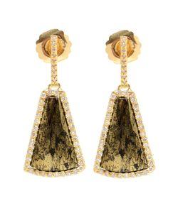 KIMBERLY MCDONALD | 18kt Apache And Diamond Earrings