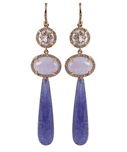 IRENE NEUWIRTH | Tiered Drop Earrings In From