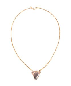 DEZSO | Shark Tooth And Polki Diamond Pendant Necklace