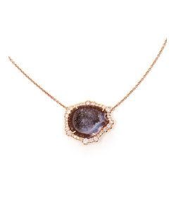 KIMBERLY MCDONALD | 18kt Pendent Set With A Stunning Rutilated Geode From