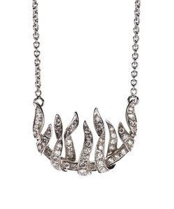 GARRARD | -Tone Necklace From Featuring A Rear Lobster Clasp Closure And Fire Of London Pendant With 0