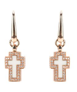 GAVELLO | Cross Diamond Earrings