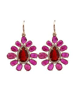 IRENE NEUWIRTH | 18k Ruby Earrings From Featuring One Of A Kind Cut Rubies 12