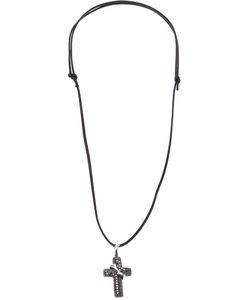 GAVELLO | Diamond Embellished Cross Necklace