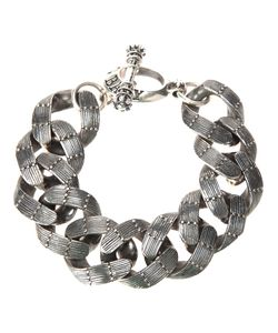 KING BABY | Textured Chain Link Bracelet
