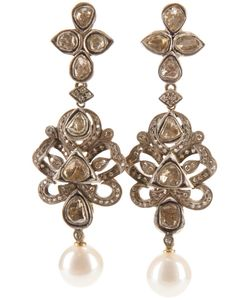 PETRALUX | 18ct Vintage Chandelier Earrings From Featuring Cut Diamonds 1