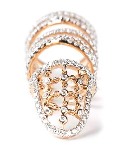 GEMCO | 18 Carat Armour Ring From Featuring 161pcs Diamonds 1