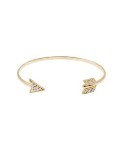 Anita Ko | 18k Arrow Cuff From Featuring A Thin Cuff With Diamonds