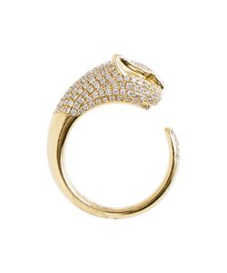 Anita Ko | 18k Panther Ring From Featuring A Panther Silhouette With Micro Pave Diamonds 1
