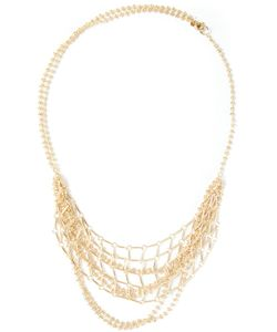 WOUTERS & HENDRIX | -Tone Hanging Chains Necklace From Featuring A Spring-Ring Fastening And A Tone Logo Plaque