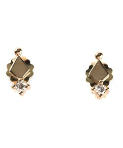 KINZ KANAAN | Diamond Stud Earrings