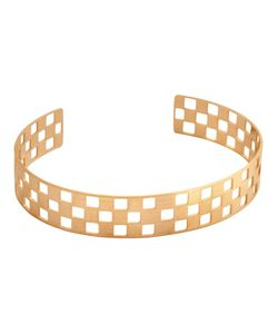 CHARLET PAR AIME | Thick Damier Bangle