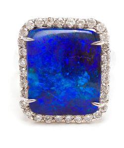 KIMBERLY MCDONALD | Boulder Opal And Diamond Ring