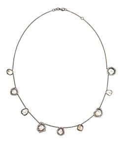 KIMBERLY MCDONALD | Nine Diamond Slice Necklace From